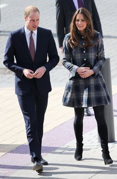 Will and Kate Get Sporty During Their Royal Visit to Glasgow: Kate Middleton waved at her fans. : Kate Middleton and Prince William arrived in Glasgow.