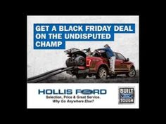Hollis Ford Sales Manager, Ryan Senior talks about his Black Friday Event