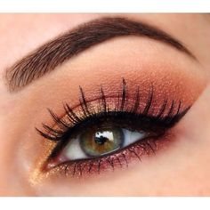 Image result for coral eyeshadow
