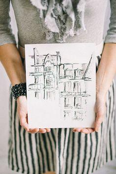 styled shoot // rue de seine // aandbe