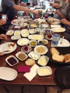 Moda Van Kahvaltı: Big Traditional Turkish Breakfast