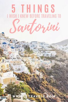 Greece Read this before traveling to Santorini. You'll be glad you did! Santorini Grecia, Santorini Travel, Santorini Hotels, Europe Travel Tips, Travel Guides, Travel Destinations, Backpacking Europe, European Travel, Holiday Destinations