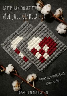 Crochet Potholders, C2c Crochet, Filet Crochet, Easy Crochet, Crochet Hats, Loom Knitting, Knitting Stitches, Knitting Patterns, Crochet Patterns