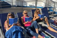 Life Matters leaders cruisin and readin The Four Year Career.