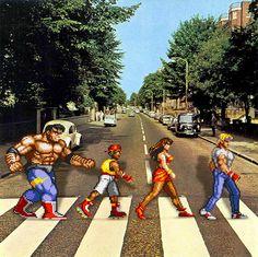 Os Simpsons e outros personagens da cultura pop em Abbey Road | ROCK'N TECH