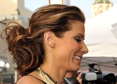 Pictures of Sandra Bullock's Hair at The Proposal premiere ...