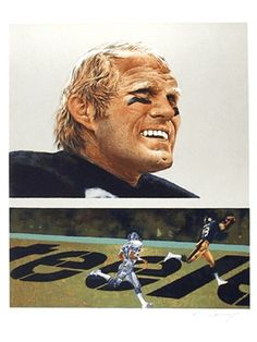Terry Bradshaw and Lynn Swann (Super Bowl XIII – Steelers vs. Most Popular People, Nfl Sunday, Pittsburgh Steelers Football, Football Hall Of Fame, Popular Sports, Championship Game, Black And White Portraits, National Football League, Sports Art