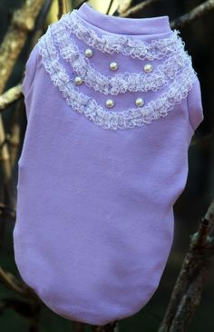 Capa lilás romantic Clothes for dogs roupa pra cachorro #malloomodapet #cute #clothesfordogs