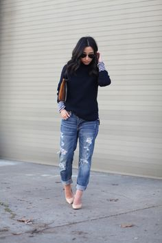 How to Wear the Tomgirl Jean with Crystalin Marie