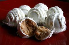 Very Vanilla Cake Balls