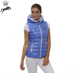 Spooks Lana Gilet - Ultramarine - NOW £65.00