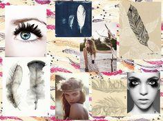 Mood boards – feathers and fashion | arnoldandbird