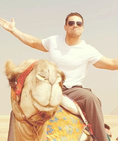 The Miz on a Camel...Be Jealous