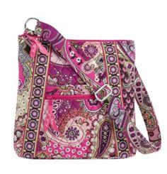 Vera Bradley Hipster Very Berry Paisley - Vera Bradley Fabric Handbags 6acfaa0e7858f