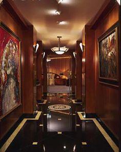 art deco interiors | Stilrichtung Art Deco. Jugendstil - - indoor- architecture.de