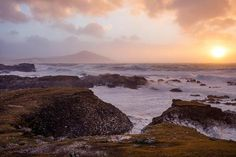 size: Photographic Print: Stormy Evening on the Coast of Achill Island, County Mayo, Ireland by Gareth McCormack : Yosemite National Park, National Parks, County Mayo Ireland, Island County, Ireland Beach, Beach Landscape, Ways Of Seeing, Framed Artwork, Scenery