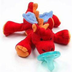 My nephew <3s these pacifier plush... Purchased this dragon from Amazon $16