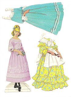 (⑅ ॣ•͈ᴗ•͈ ॣ)                                                            ✄Mostly Paper Dolls: My LITTLE WOMEN Paper Dolls