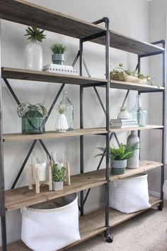 How-To Style Bookshelves