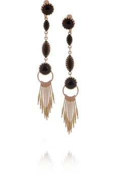 Love these gorgeous Isabel Marant earrings!- tutorial coming soon to hapinesswherever.wordpress.com
