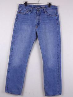 Polo Ralph Lauren Classic Fit Blue Jeans Measures 35 x 32 100% Cotton Med Wash #PoloRalphLauren #ClassicStraightLeg