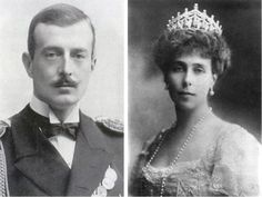 gr-Princess Victoria Melita of Saxe-Coburg and Gotha and Grand Duke Kirill Vladimirovich in Tegernsee, Germany on 8 October 1905.