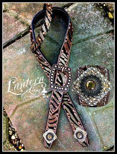 Metallic copper zebra with colorado topaz crystals