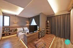 5 Ways to Maximise Your Master Bedroom Floor Area   Article   Qanvast   Home Design, Renovation, Remodelling & Furnishing Ideas