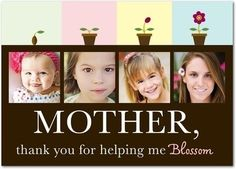 Mothers Day- wish I would have seen this weeks ago! Such a sweet idea for a Moms day gift!