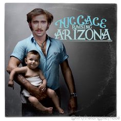 Morrissey The Smiths Years of Refusal / Raising Arizona Nicolas Cage Vinyl Record Album Mash Up Parody Art Print #mashup #photoshop #parody  #johnnycash #albumcover #album #cover #lp #record #vinyl #scifi #nerd #music #movie #geek #etsy  #funny #nicolascage #niccage #raisingarizona #coenbrothers #coens #cage #arizona