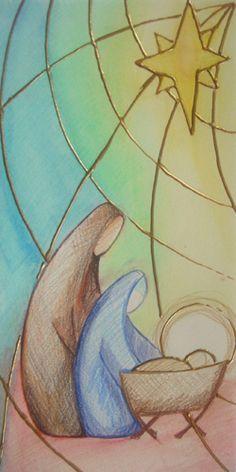 Nativité ---Nativity - Banners for church | Adoremus