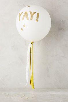 Glittering Balloon Kit #anthrofave