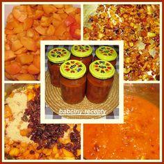 Indické meruňkové čatní   Babčiny recepty Indie, Muffin, Breakfast, Desserts, Blog, Morning Coffee, Tailgate Desserts, Deserts, Muffins