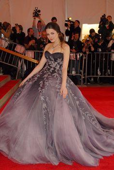 "Bee Shaffer in Nina Ricci ""Superheroes: Fashion and Fantasy,"" 2008"
