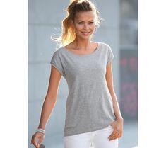 Tričko s potlačou V Neck, Style Fashion, Model, Clothes, Mathematical Model, Pattern, Modeling, Fashion Styles