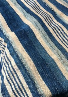 Burkina Faso strip weave …