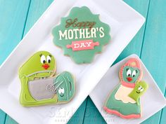 mother's day baking themed cookies