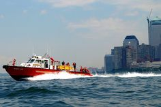 MAR6 FDNY KEVIN C. KANE Fire Rescue Boat, New York Harbor | Flickr - Photo Sharing!
