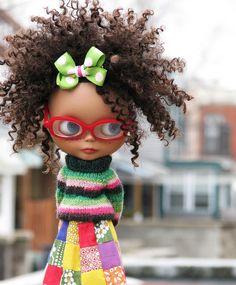 Dorothy Dandridge T-shirt t shirt DD african american afro . Blythe Dolls, Barbie Dolls, Dolls Dolls, Manu Manu, Curly Hair Styles, Natural Hair Styles, Natural Beauty, Pelo Afro, African American Dolls