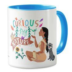 Pocahontas ''Curious By Nature'' Mug - Customizable