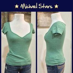 Michael Stars Tops - Michael Stars Shimmer Tee
