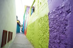 Pachuca Mexico Mural | Brilliant rainbow mural unites a community in the drug capital of ...