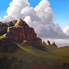 Doug West - Dividing the Light -  Blue Rain Gallery / Santa Fe New Mexico