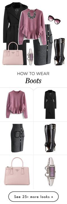 """outfit 3096"" by natalyag on Polyvore featuring Alexander Wang, Chicwish, Versace, Prada, Chico's, Gucci, River Island, women's clothing, women's fashion and women"