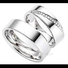 Argollas De Matrimonio En Plata Y Platino Modelos A Elegir