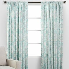 Revitalize your windows in a stunning way with our Valencia Panels, a Z Gallerie exclusive.  #ZGallerie  #Curtains