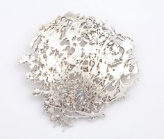 Fantastic brooch by @Michael Dussert Dussert Dussert Dussert Norman CHERRY-UK   #brooch #silver