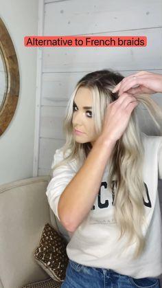 Work Hairstyles, Pretty Hairstyles, Braided Hairstyles, Hairdos, Medium Hair Styles, Curly Hair Styles, Blond, Aesthetic Hair, Great Hair