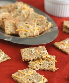 Low Carb Cheddar Jalapeno Crackers [All Day I Dream About Food]
