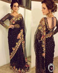 See Instagram photos and videos from Tena Durrani (@tenadurrani) Desi Bride, Pakistani Outfits, Indian Outfits, Sari Design, Modern Saree, Sari Dress, Saree Trends, Elegant Saree, Desi Clothes